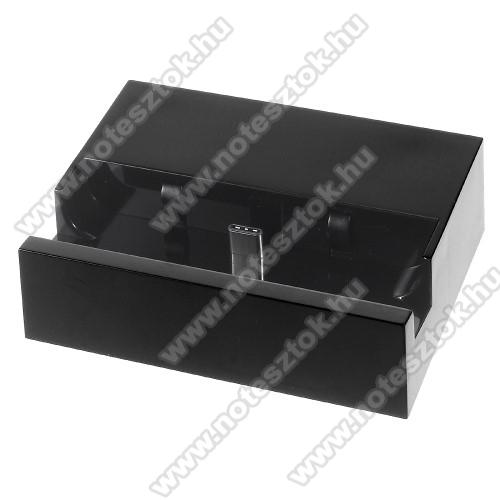 OPPO R17 ProAsztali töltő / dokkoló - adatátviteli állvány, USB 3.1 Type C - FEKETE