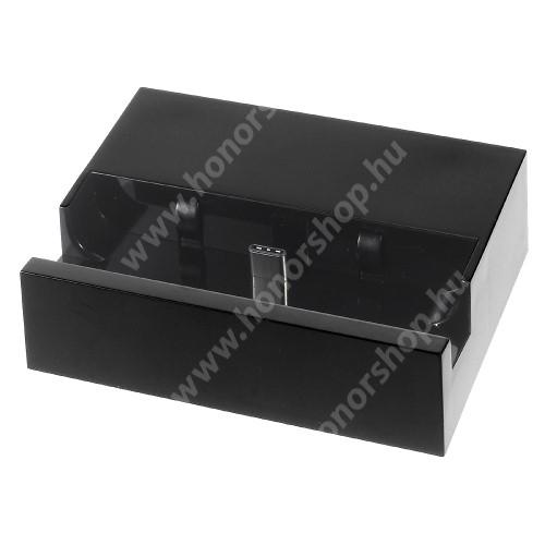 HUAWEI Honor 10 Asztali töltő / dokkoló - adatátviteli állvány, USB 3.1 Type C - FEKETE
