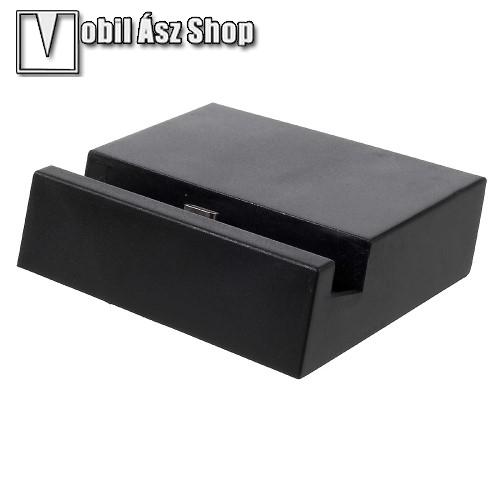 HUAWEI P9Asztali töltő / dokkoló - adatátviteli állvány, USB 3.1 Type C - FEKETE