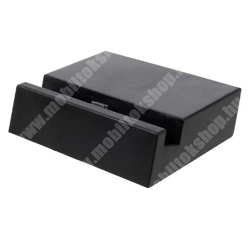 Meizu Pro 6 Plus Asztali töltő / dokkoló - adatátviteli állvány, USB 3.1 Type C - FEKETE