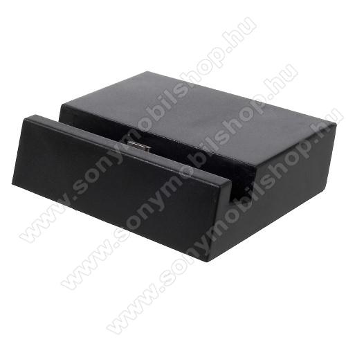 SONY Xperia 10 (2019)Asztali töltő / dokkoló - adatátviteli állvány, USB 3.1 Type C - FEKETE