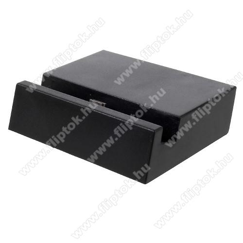 ZTE S30Asztali töltő / dokkoló - adatátviteli állvány, USB 3.1 Type C - FEKETE