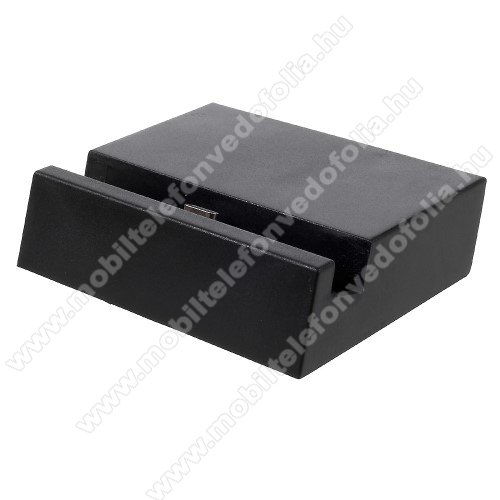 ZTE S30 SEAsztali töltő / dokkoló - adatátviteli állvány, USB 3.1 Type C - FEKETE