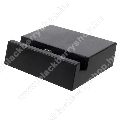 BLACKBERRY Evolve XAsztali töltő / dokkoló - adatátviteli állvány, USB 3.1 Type C - FEKETE