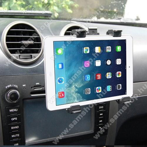 SAMSUNG Galaxy Tab A 8.0 (2017) (SM-T380)Autós / gépkocsi TABLET PC tartó - szellőzőrácsra helyezhető - 142-250mm-ig állítható bölcső, 8-11