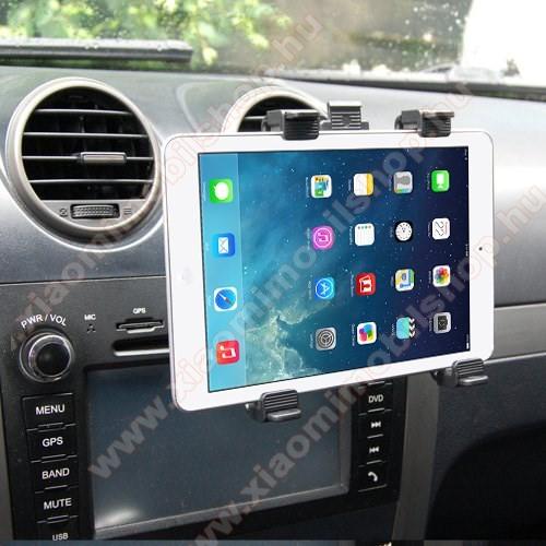 Xiaomi Mi Pad 4 PlusAutós / gépkocsi TABLET PC tartó - szellőzőrácsra helyezhető - 142-250mm-ig állítható bölcső, 8-11