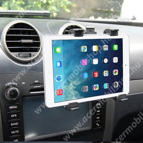 """ACER Iconia Tab A510 Autós / gépkocsi TABLET PC tartó - szellőzőrácsra helyezhető - 142-250mm-ig állítható bölcső, 8-11""""-os készülékekig"""