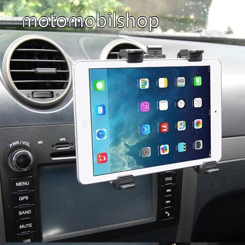 """MOTOROLA Xoom 2 Media Edition (MZ608) Autós / gépkocsi TABLET PC tartó - szellőzőrácsra helyezhető - 142-250mm-ig állítható bölcső, 8-11""""-os készülékekig"""