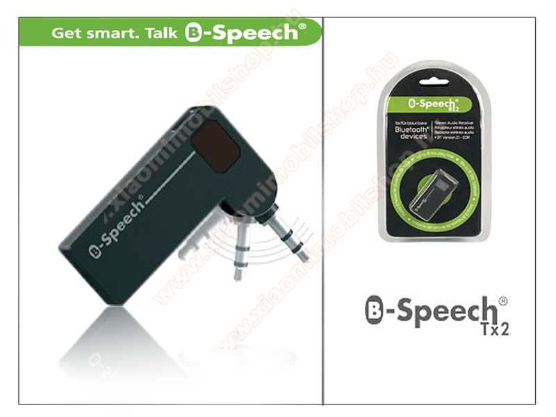 B-Speech TX2 Bluetooth audio adapter transmitter v2.0