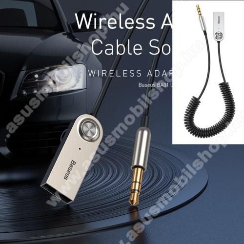 ASUS Memo Pad 7 ME572CBASEUS BA01 Bluetooth audio transmitter - 3,5mm jack csatlakozó, V5.0, beépített mikrofon - FEKETE - GYÁRI