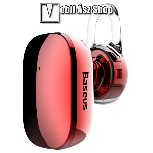 HUAWEI P9BASEUS Encok A02 bluetooth headset - v.4.1, fülbe dugható, USB töltő - PIROS - GYÁRI