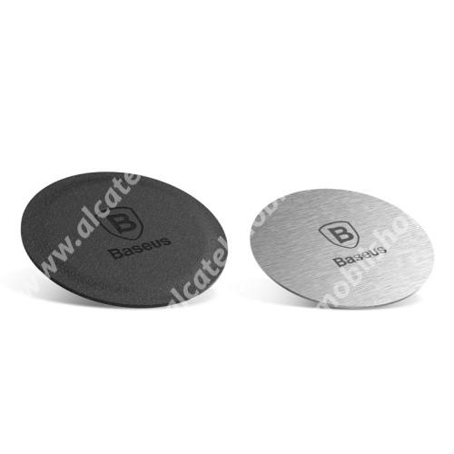 ALCATEL A5 LED BASEUS fémlap mágneses autós tartókhoz - 2db - GYÁRI