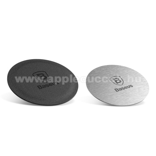 APPLE iPhone XBASEUS fémlap mágneses autós tartókhoz - 2db - GYÁRI