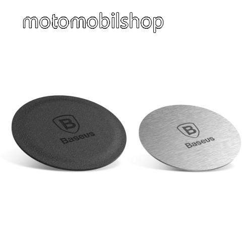 MOTOROLA V3 BASEUS fémlap mágneses autós tartókhoz - 2db - GYÁRI