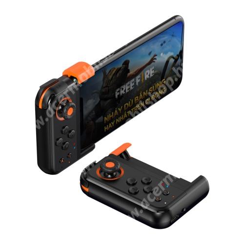 """BASEUS GAMO GA05 UNIVERZÁLIS Kontroller / Joystick -Bluetooth 4.0,  ravasz FPS játékokhoz, 7 programozható gomb, PUBG-hez ajánlott, 6.5""""-os méretig kompatibilis okostelefonokkal - FEKETE"""