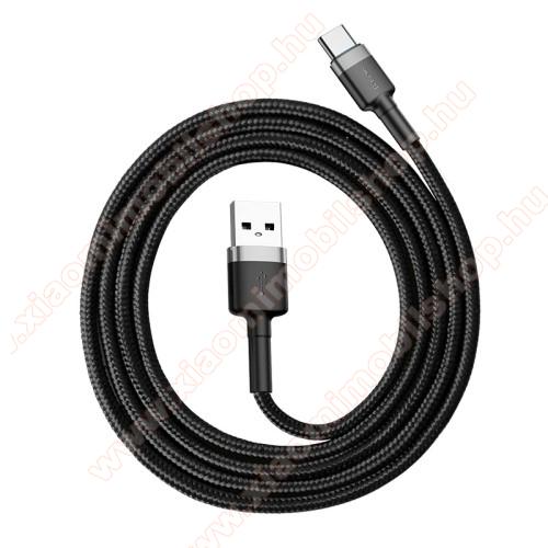 Xiaomi Mi True Wireless Earphones LiteBASEUS Kevlar Series 3A adatátviteli kábel, USB töltő - Type-C / USB, 1m, szövettel bevont, 5V/3A és 9V/2A gyorstöltés támogatás - FEKETE / SZÜRKE - GYÁRI