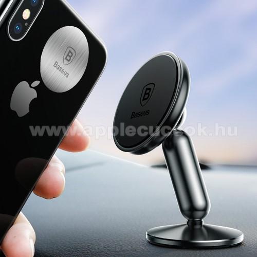 APPLE iPOD photo (40 GB, 60 GB)BASEUS Magnetic autós / gépkocsi tartó - mágneses, műszerfalra rögzíthető, 360°-ban elforgatható - FEKETE - GYÁRI