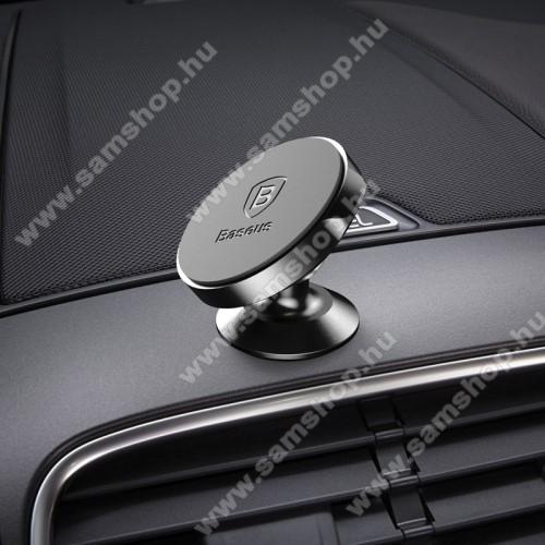 SAMSUNG SGH-Z300BASEUS Magnetic autós / gépkocsi tartó - mágneses, műszerfalra rögzíthető - FEKETE - GYÁRI