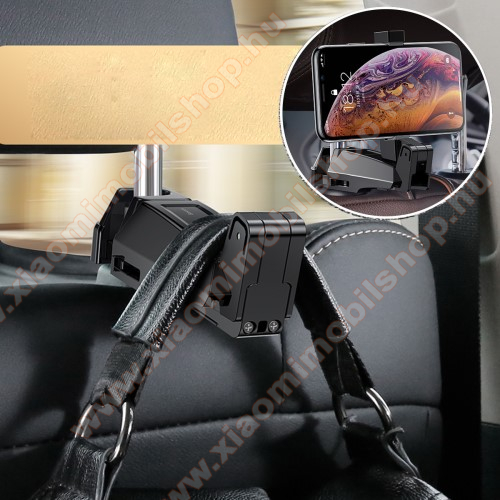 BASEUS UNIVERZÁLIS gépkocsi / autós tartó - 64-90mm-ig állítható bölcső, 4-6.5