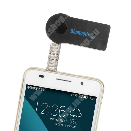 APPLE iPad mini Bluetooth audio adapter - 3,5mm jack csatlakozóba illeszthető, MINI! - FEKETE