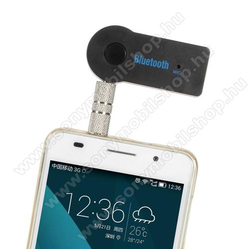 Bluetooth audio adapter - 3,5mm jack csatlakozóba illeszthető, MINI! - FEKETE