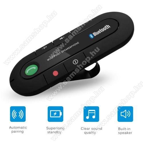 SAMSUNG GT-S5350 SharkBLUETOOTH kihangosító szett - napellenzőre rögzíthető, hordozható, Bluetooth V4.1+EDR, beépített mikrofon, 650mAh akkumulátor, egyszerre 2 különböző telefonnal használható! - FEKETE