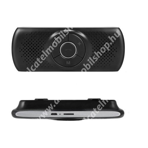 ALCATEL OT 800 Tribe BLUETOOTH kihangosító szett - napellenzőre rögzíthető, hordozható, Bluetooth V4.1+EDR, beépített mikrofon, zajszűrő, 500mAh akkumulátor, egyszerre 2 különböző telefonnal használható! - FEKETE