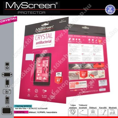 CRYSTAL Képernyővédő fólia törlőkendővel 1 db-os - LENOVO A2010