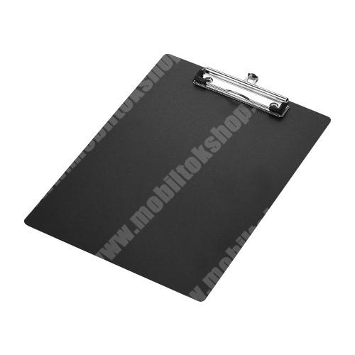 PRESTIGIO MultiPad 8.0 PRO DUO Csíptetős laptartó / íróalátét - behúzható függőhurokkal, falra akasztható, A4-es méretű - FEKETE