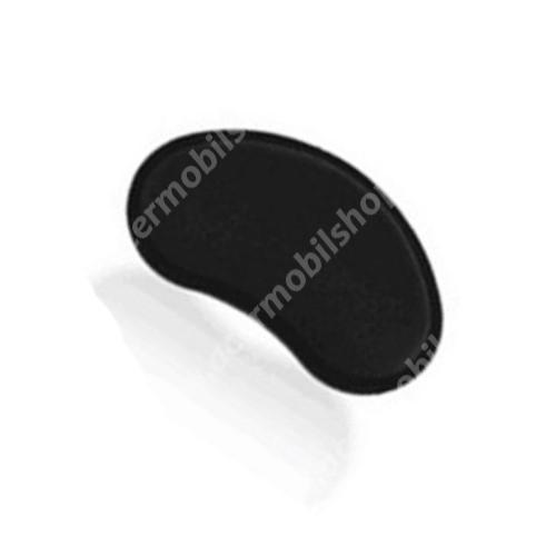 Csuklótámasz egérpadokhoz - memóriahab, csúszásgátló, kopásálló, csuklótámasz mérete: ~ 135 x 70mm - FEKETE