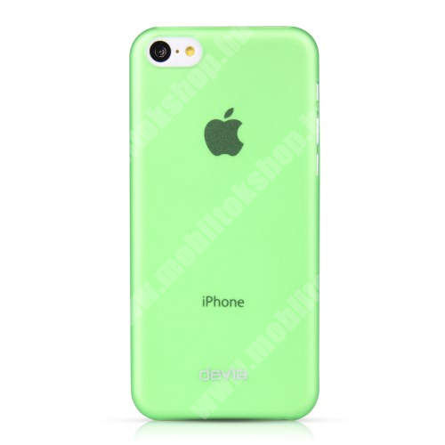 APPLE IPhone 5C DEVIA ultravékony műanyag védő tok / hátlap - ZÖLD - APPLE IPhone 5C