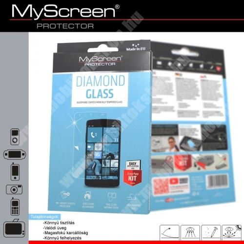DIAMOND GLASS előlap védő karcálló edzett üveg - 9H - SAMSUNG SM-J320F Galaxy J3 (2016)