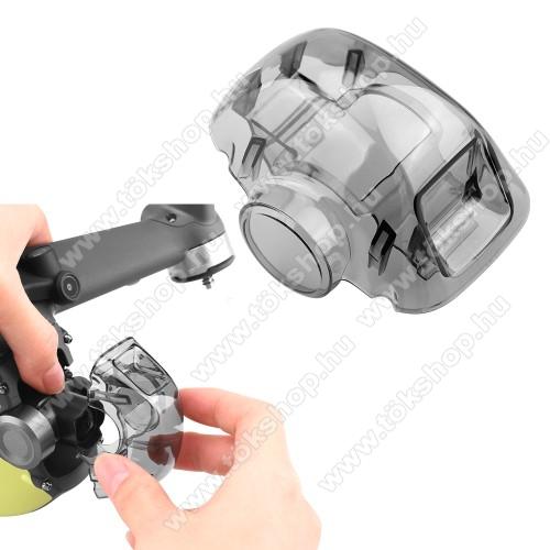 DJI FPV Combo műanyag kamera védőburkolat - porvédő, szállítás közben védi a karcoktól, 62 x 48 x 38 mm - ÁTTETSZŐ