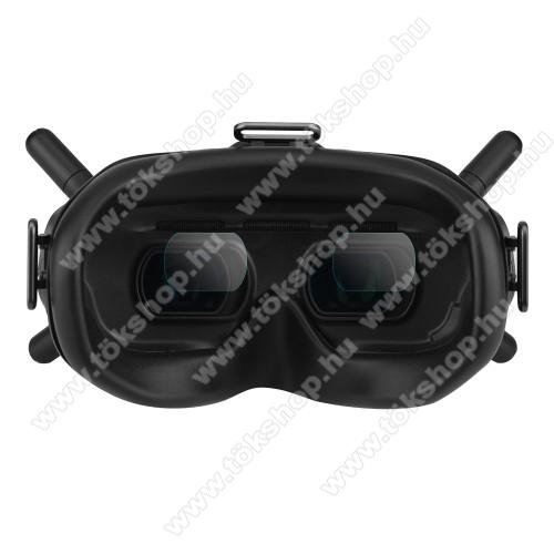 DJI FPV Combo VR szemüveg lencsevédő karcálló edzett üveg - 2pár / 4db, 0,3 mm vékony, 9H