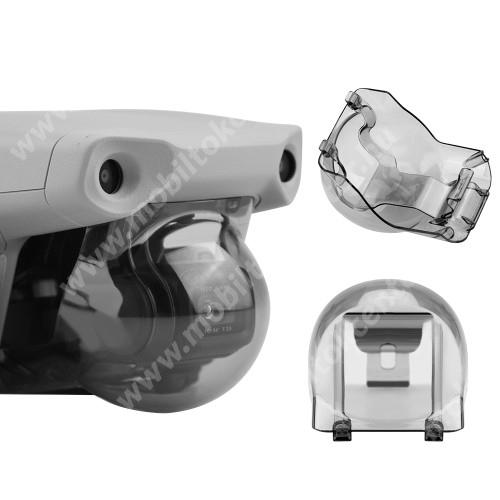 DJI Mavic Air 2-höz műanyag kamera / objektív védőburkolat - porvédő, szállítás közben védi a karcoktól - ÁTTETSZŐ