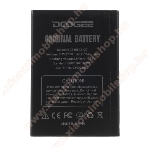 DOOGEE akkumulátor - 2000 mAh Li-Ion - Doogee X9 Mini - BAT16542100 - GYÁRI