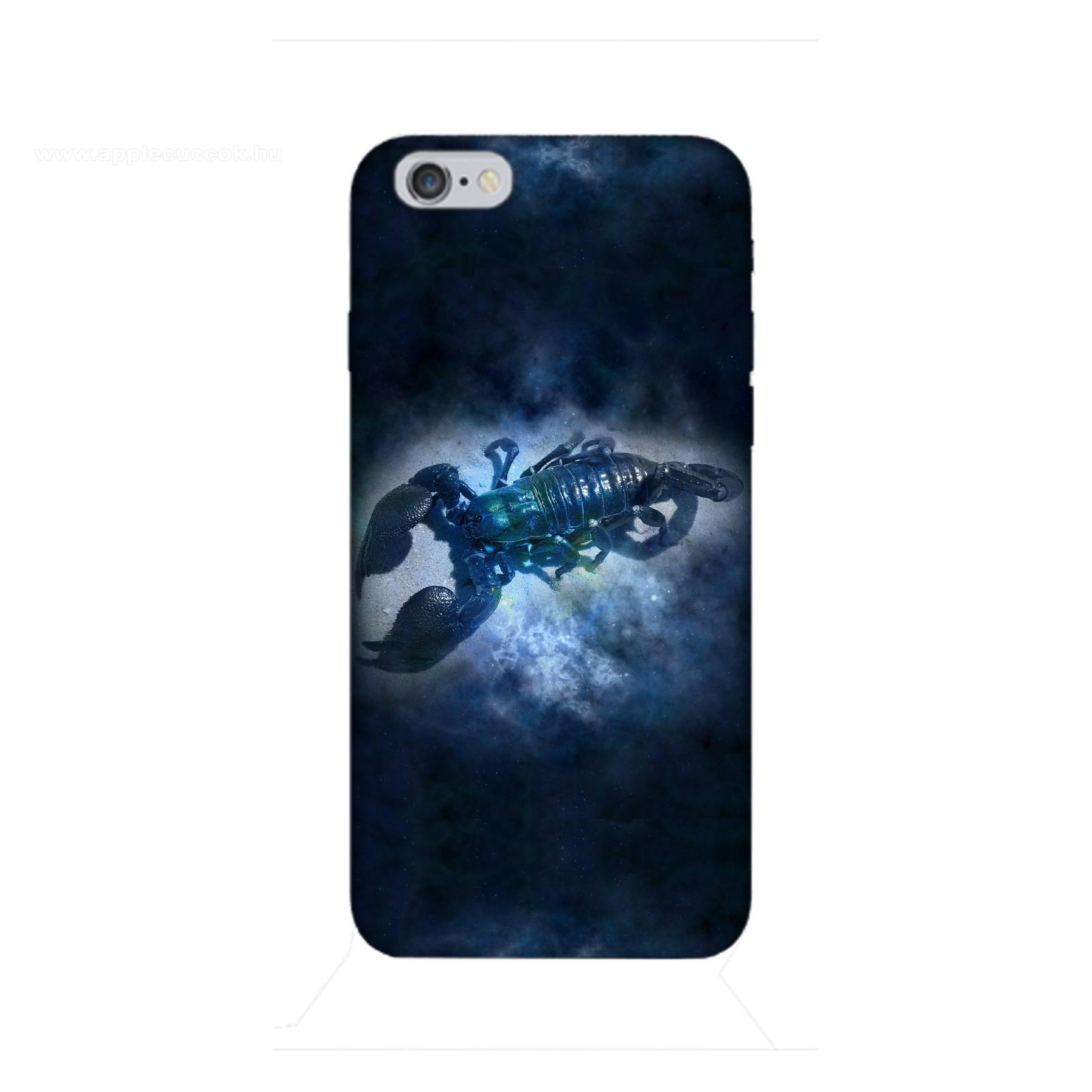 E-pic szilikon védő tok / hátlap - Horoszkóp, Skorpió mintás - APPLE iPhone 6 / APPLE iPhone 6s