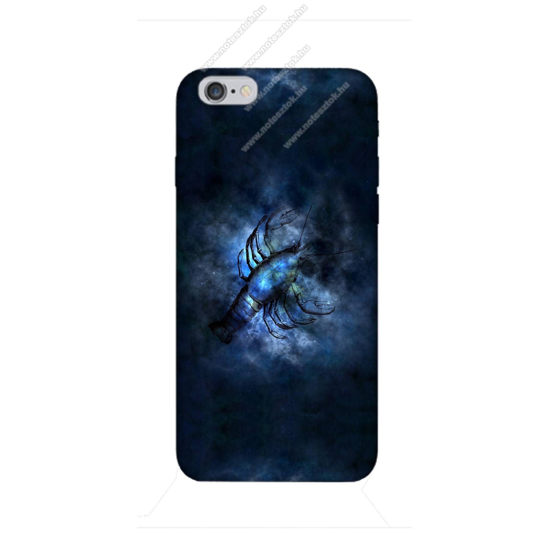 E-pic szilikon védő tok / hátlap - Horoszkóp, Rák mintás - APPLE iPhone 6 / APPLE iPhone 6s