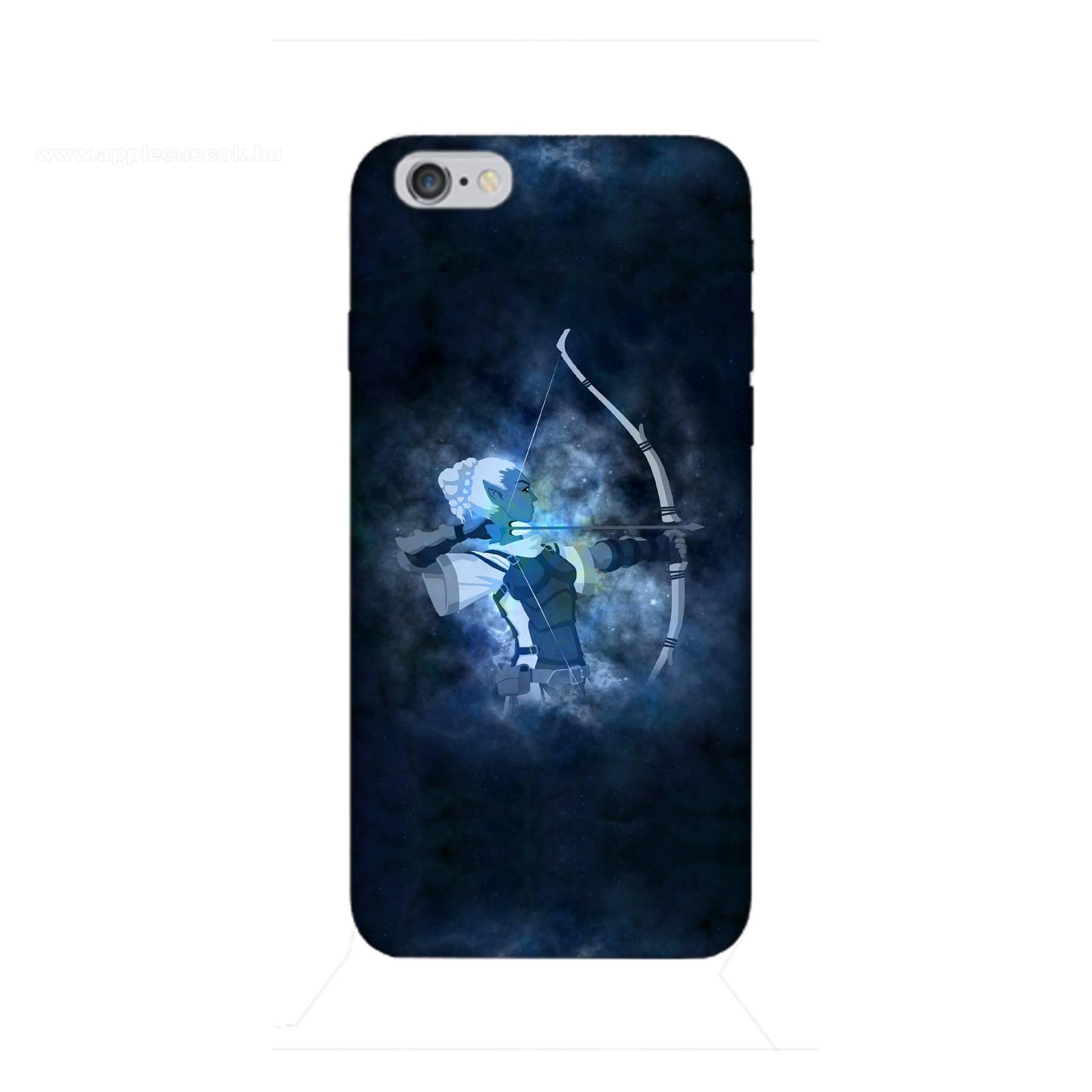E-pic szilikon védő tok / hátlap - Horoszkóp, Nyilas mintás - APPLE iPhone 6 / APPLE iPhone 6s