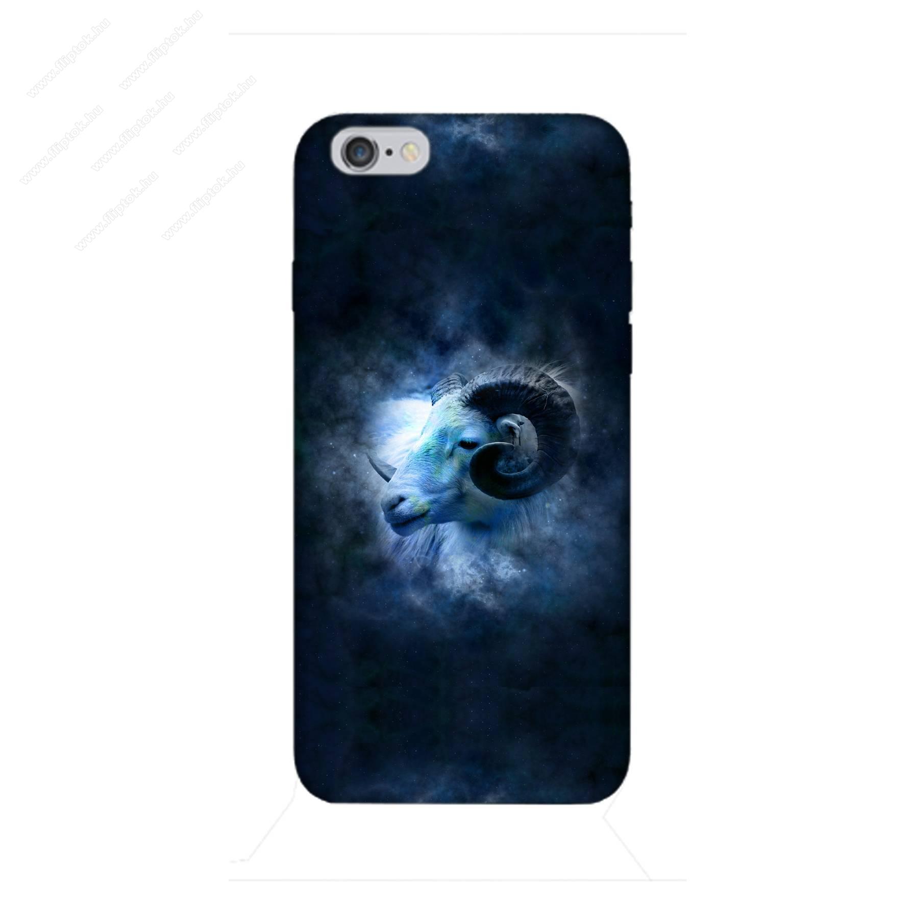 E-pic szilikon védő tok / hátlap - Horoszkóp, Kos mintás - APPLE iPhone 6 / APPLE iPhone 6s