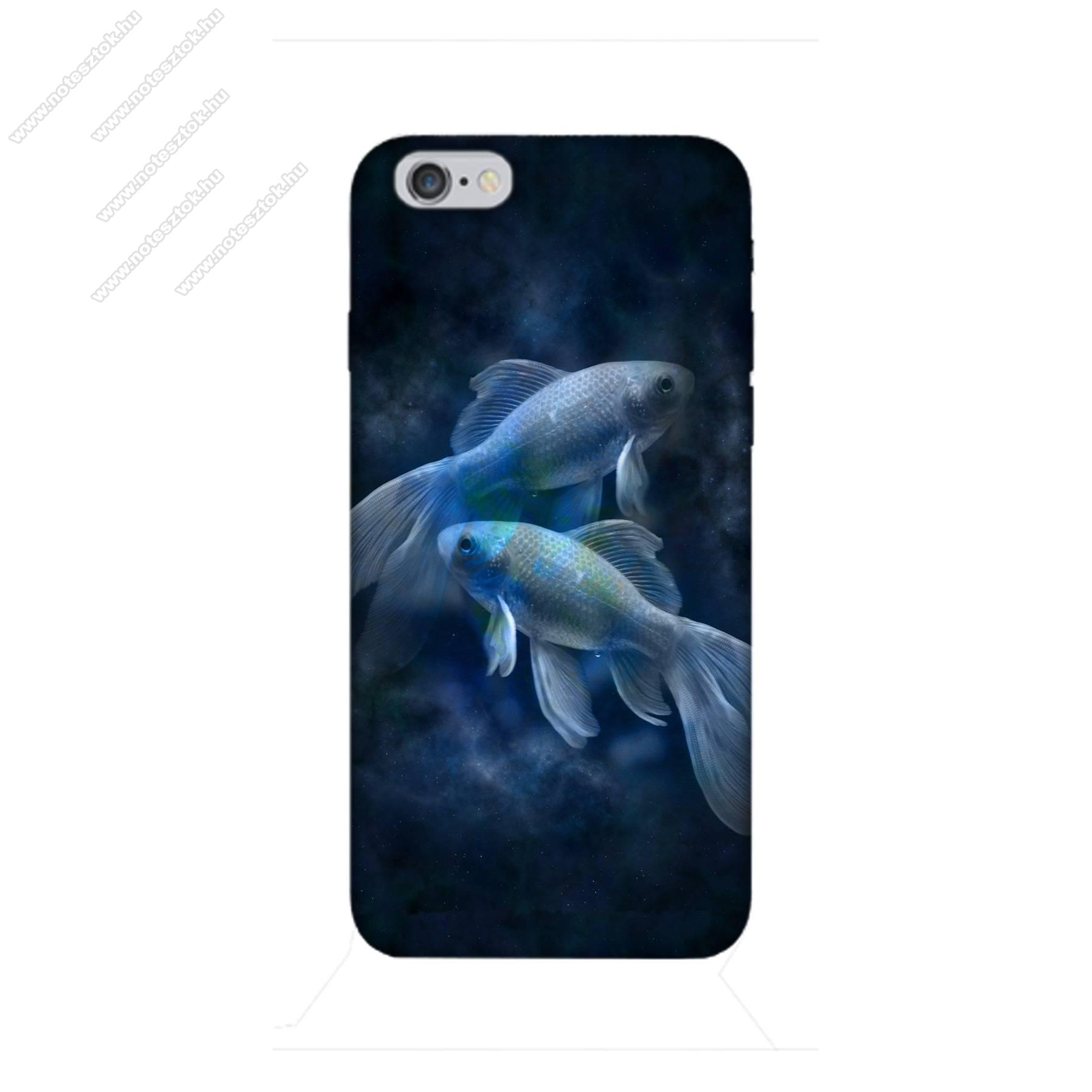 E-pic szilikon védő tok / hátlap - Horoszkóp, Halak mintás - APPLE iPhone 6 / APPLE iPhone 6s