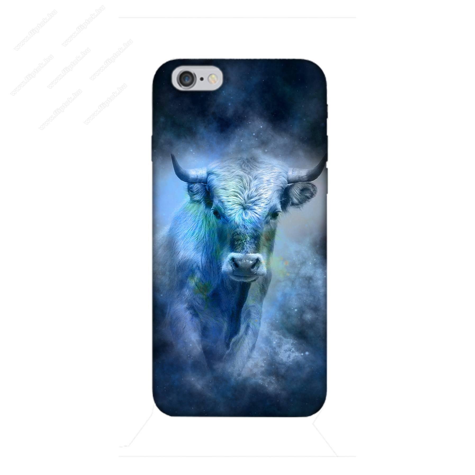 E-pic szilikon védő tok / hátlap - Horoszkóp, Bika mintás - APPLE iPhone 6 / APPLE iPhone 6s