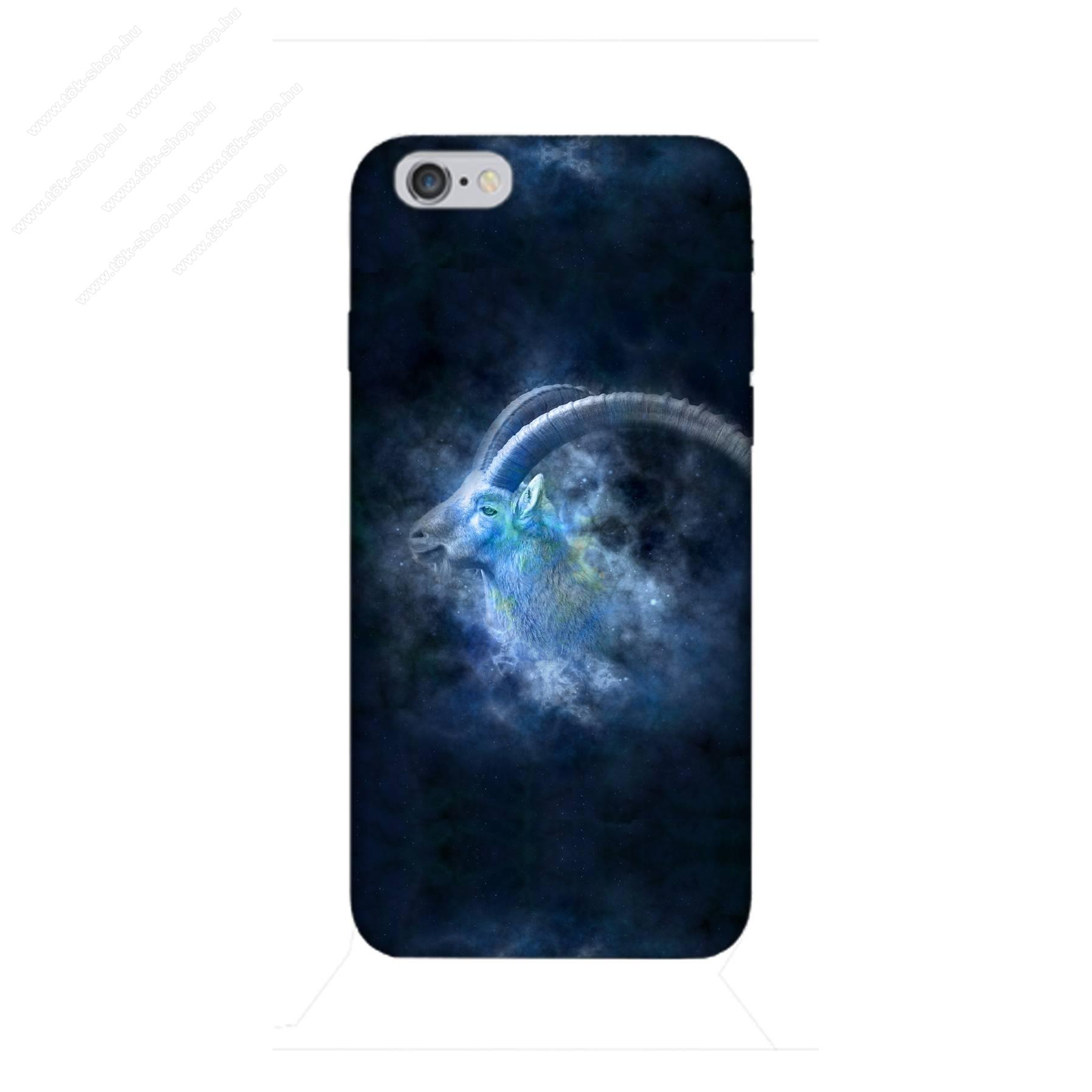 E-pic szilikon védő tok / hátlap - Horoszkóp, Bak mintás - APPLE iPhone 6 / APPLE iPhone 6s