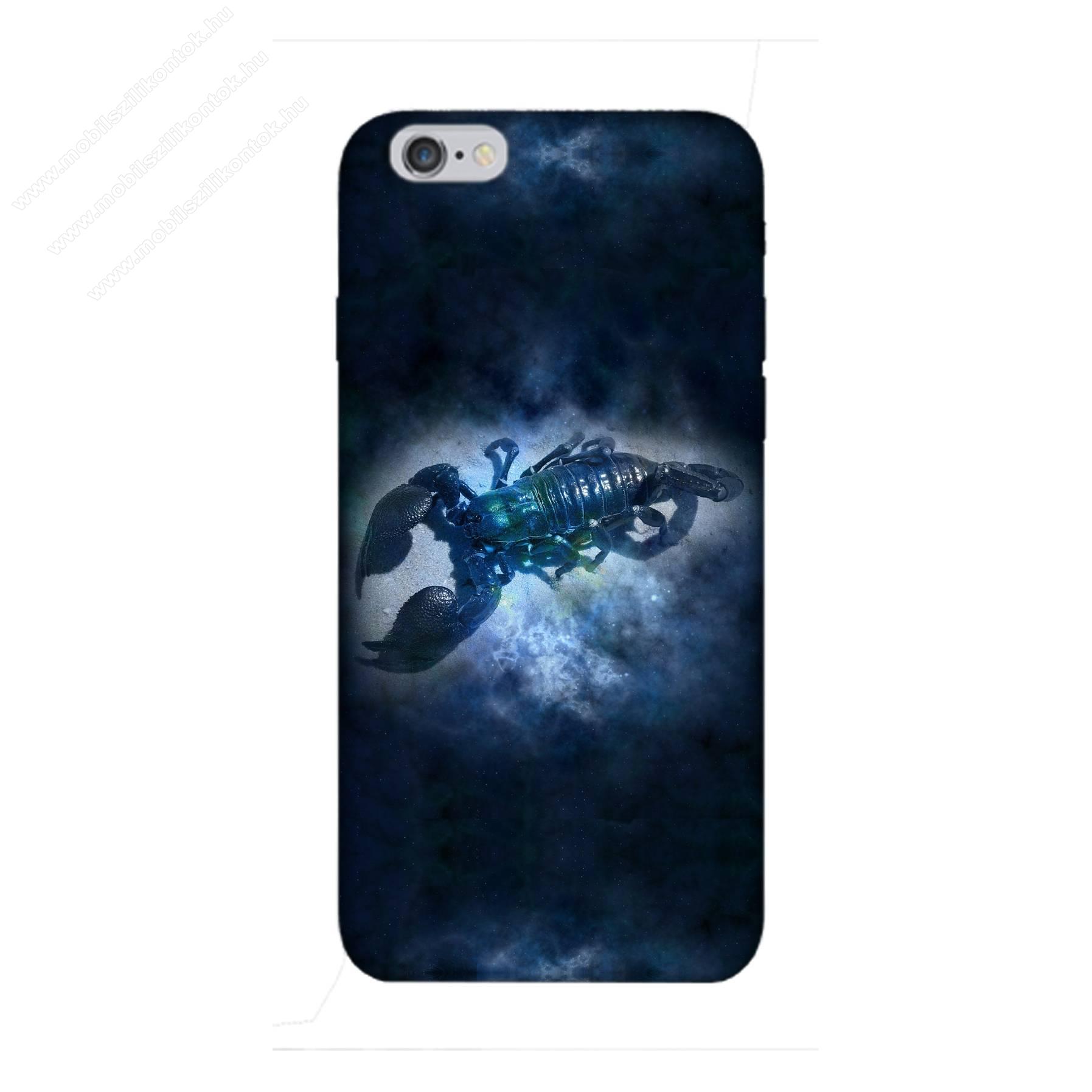 E-pic szilikon védő tok / hátlap - Horoszkóp, Skorpió mintás - APPLE iPhone 6 Plus / APPLE iPhone 6s Plus