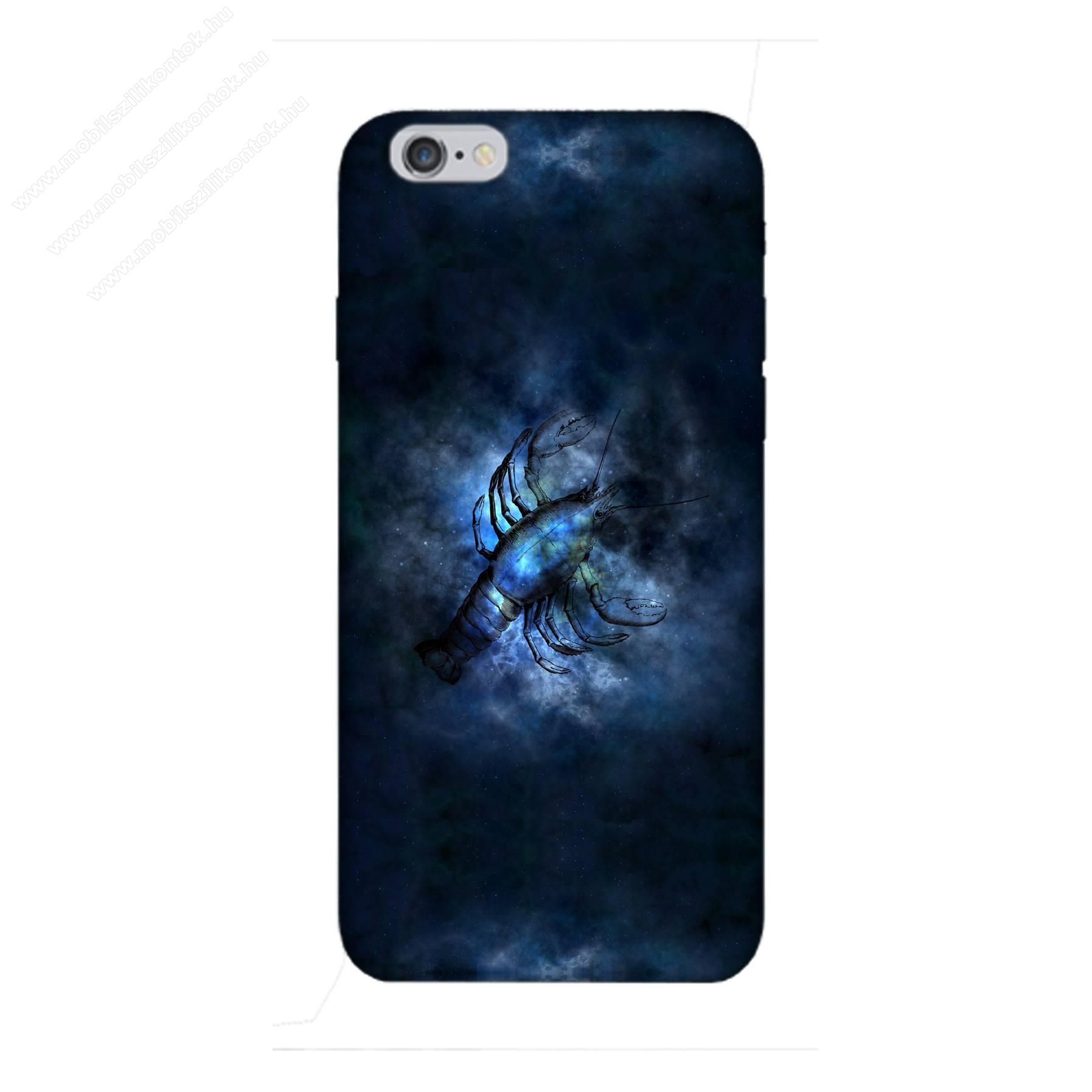 E-pic szilikon védő tok / hátlap - Horoszkóp, Rák mintás - APPLE iPhone 6 Plus / APPLE iPhone 6s Plus