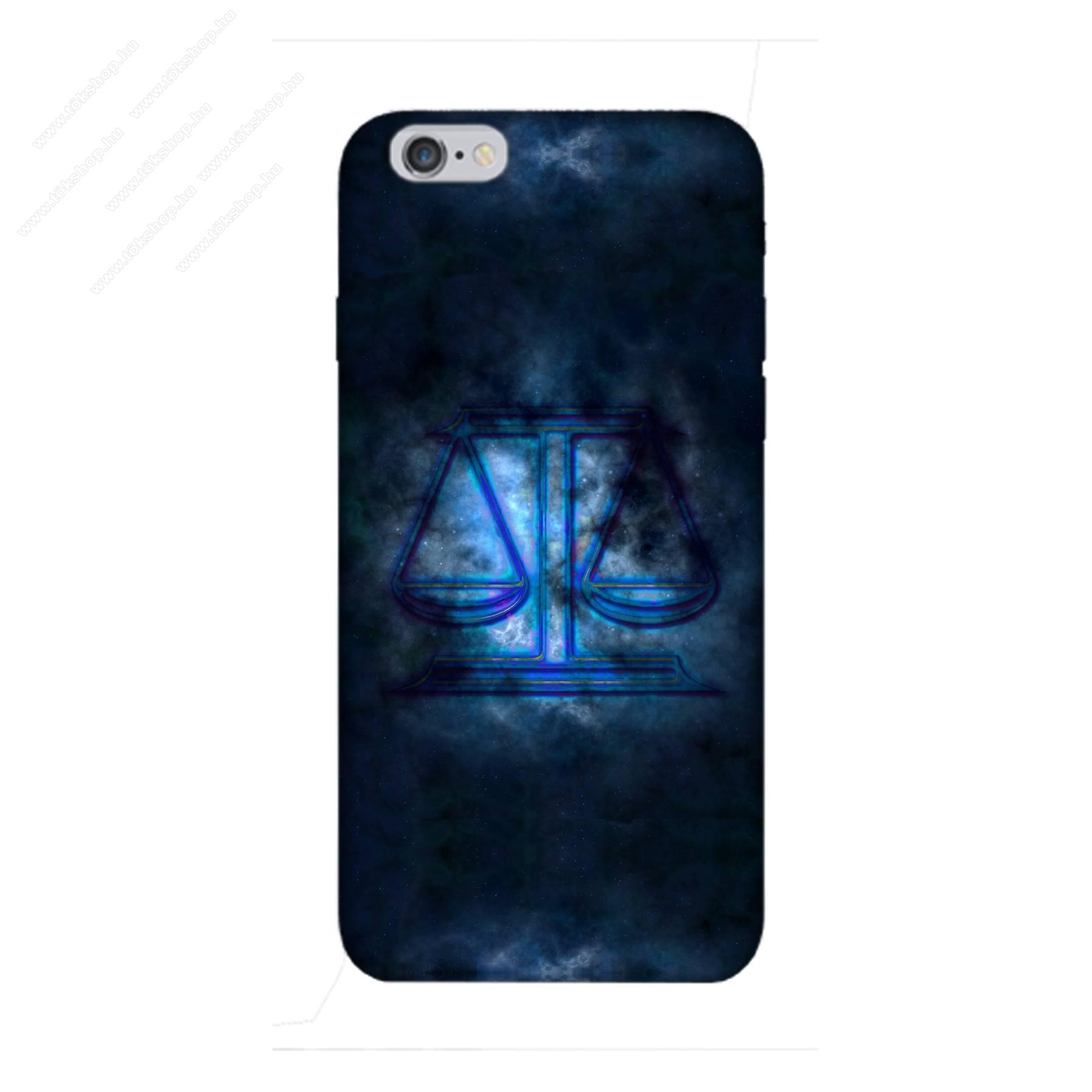 E-pic szilikon védő tok / hátlap - Horoszkóp, Mérleg mintás - APPLE iPhone 6 Plus / APPLE iPhone 6s Plus