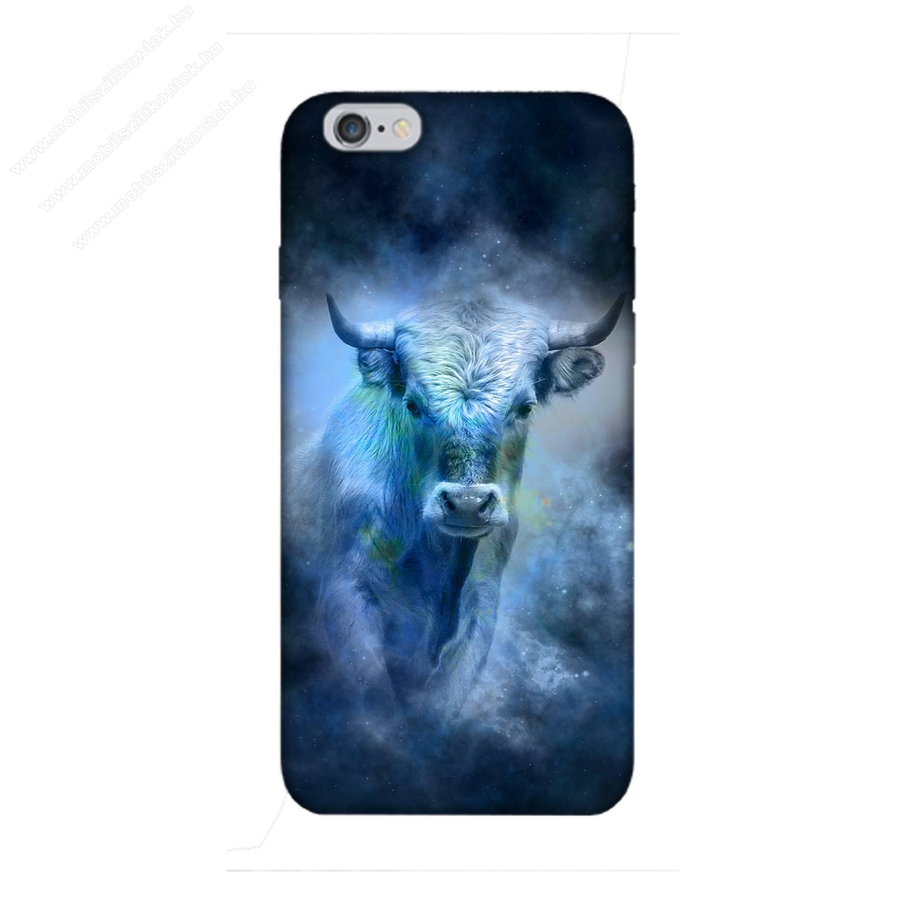 E-pic szilikon védő tok / hátlap - Horoszkóp, Bika mintás - APPLE iPhone 6 Plus / APPLE iPhone 6s Plus