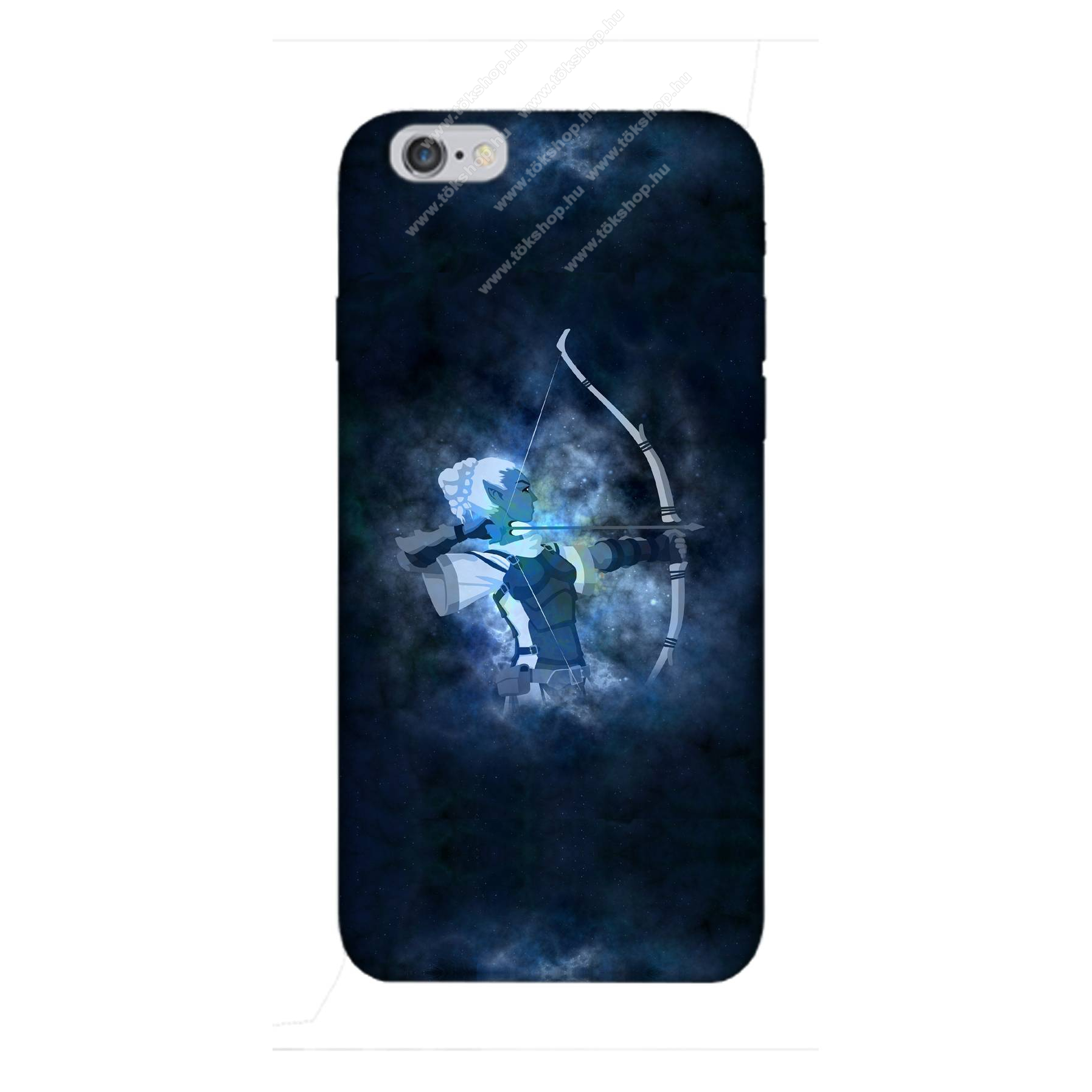 E-pic szilikon védő tok / hátlap - Horoszkóp, Nyilas mintás - APPLE iPhone 6 Plus / APPLE iPhone 6s Plus