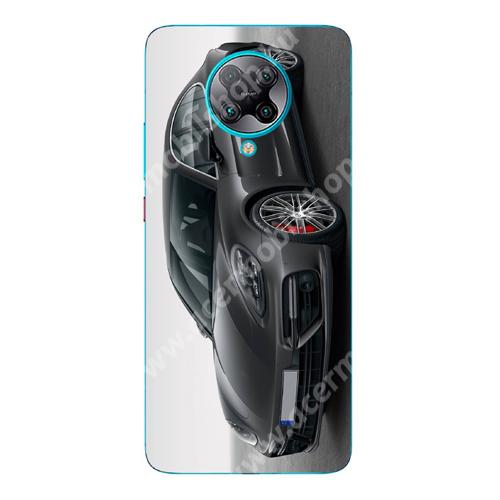 E-pic szilikon védő tok / hátlap - Sportkocsi mintás - SZÜRKE - Xiaomi Redmi K30 Pro / Redmi K30 Pro Zoom / Poco F2 Pro
