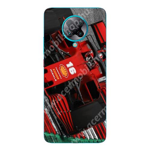 E-pic szilikon védő tok / hátlap - Versenyautó mintás - Xiaomi Redmi K30 Pro / Redmi K30 Pro Zoom / Poco F2 Pro